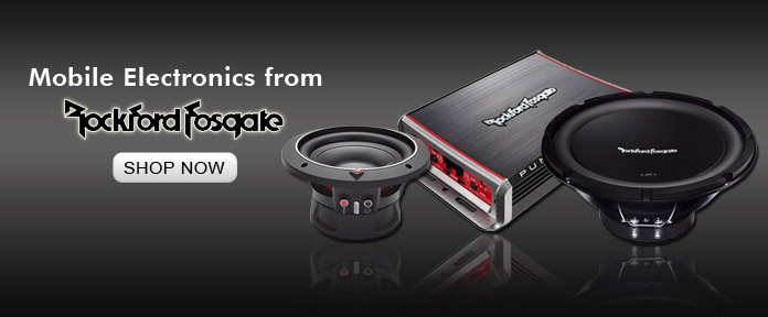 Mobile Electronics from Rockford Fosgate