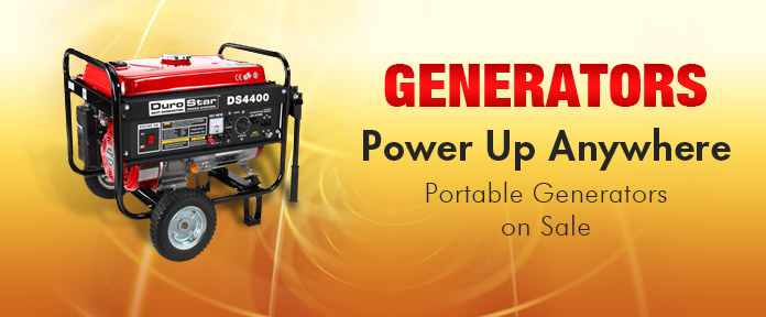 Home & Outdoors, Hand & Power Tools, Generators, Portable Generators