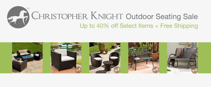Christopher Knight Outdoor Seating Sale