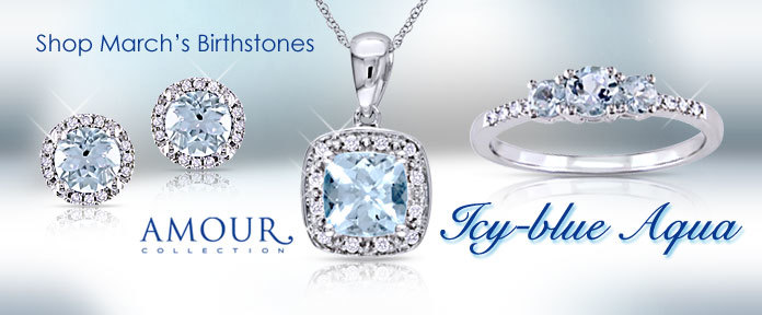 Shop March's Birthstones