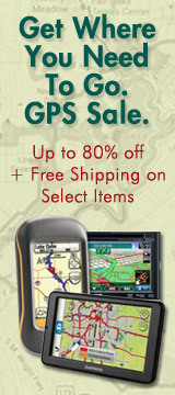 Get where you need to go. GPS sale