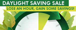 Daylight Saving Sale