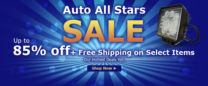 Auto All Stars SALE Up to 85% off +Free shipping