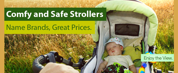 Comfy and Safe Strollers
