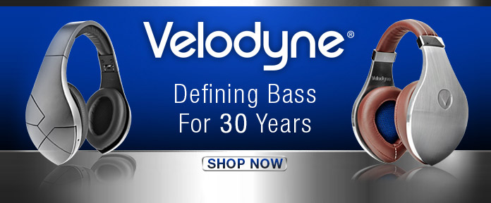 Velodyne Defining Bass for 30 Years