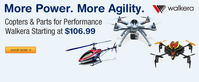 Copters & Parts For Performance