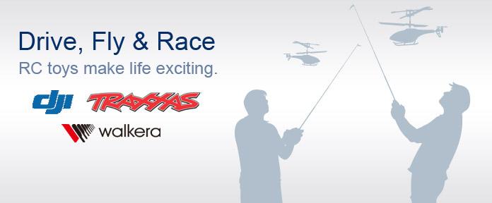 Drive, Fly & Race