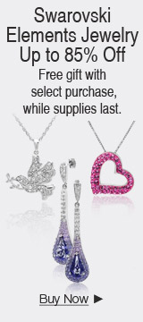 Swarovski Elements Jewelry Up to 85% off