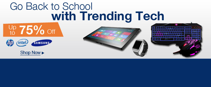 Go Back to School with Trending Tech