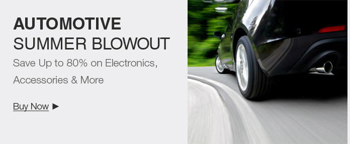 Car Electronics summer blowout