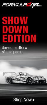 Formula Drift SHOWWDOWN EDITION: Save on millions of auto parts