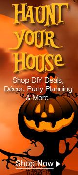 HAUNT YOUR HOUSE Shop DIY Deals, Décor, Party Planning & More