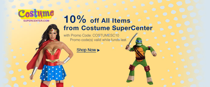 10% Off All from Costume Supercenter