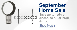 September Home Sale