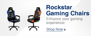 ROCKSTAR gaming chairs