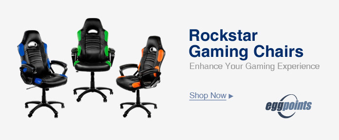 ROCKSTAR gaming chairs enhance your gaming experience
