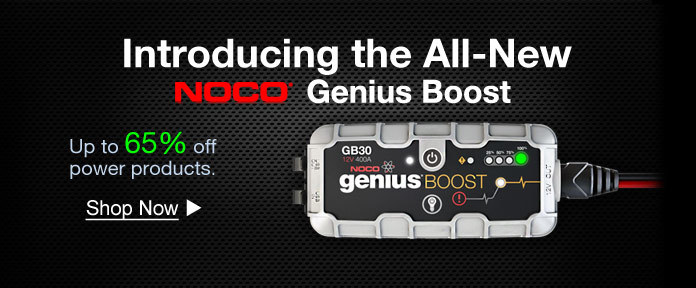 Introducing the All- New NOCO Genius Boost