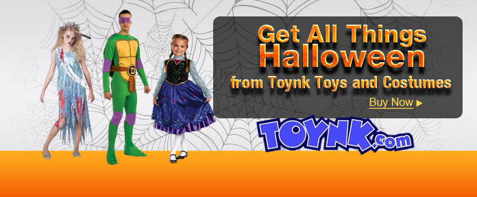 Get All Things Halloween from Toynk Toys and Costumes