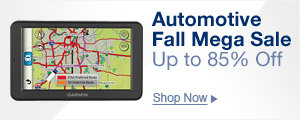 Automotive Fall Mega Sale, Up to 85% Off