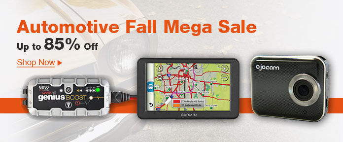 Automotive Fall Mega Sale, Up to 85% Off