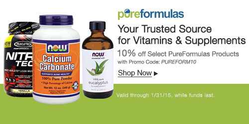 10% off Select PureFormulas Products with Promo code