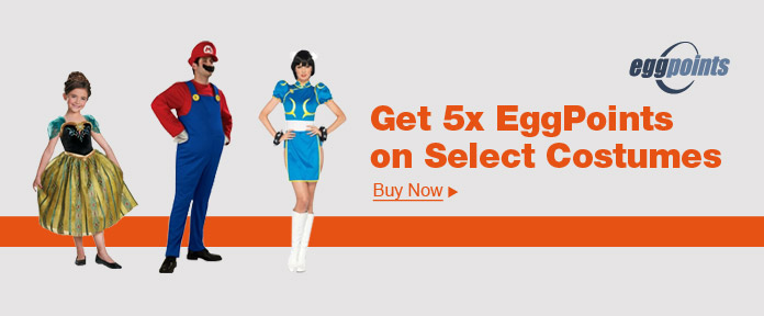 Get 5x EggPoints on select Costumes