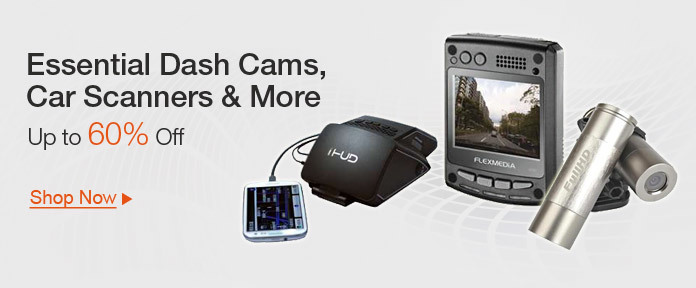 Essential Dash Cams, Car Scanners, and More