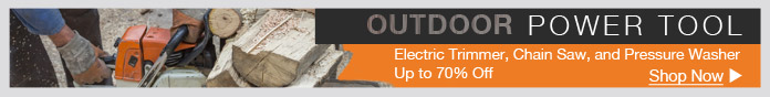 Outdoor Power Tool Clearance Sale