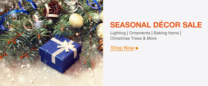 SEASONAL DÉCOR SALE