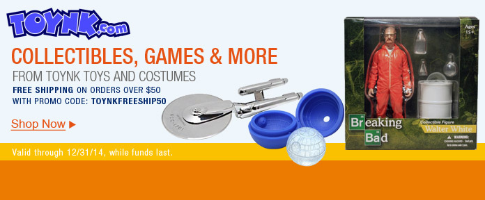 Collectibles, games & more from TOYNK toys and costumes