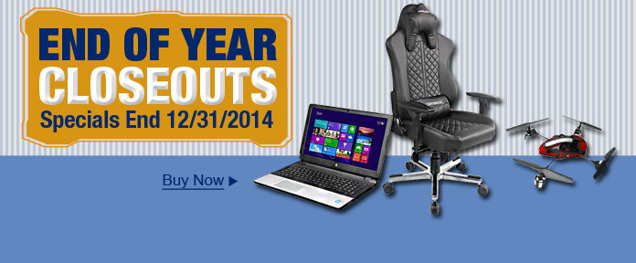 End of Year Closeouts