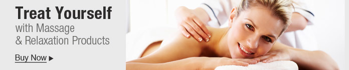 Treat yourself with massage & relaxation products