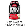 Best sellers in diet &  fitness