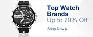 Top watch brands up to 70% off