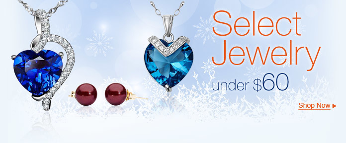 Select Jewelry, under $60