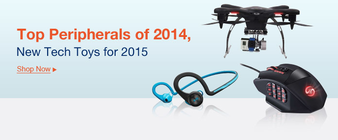 Top peripherals of 2014, new tech toys for 2015