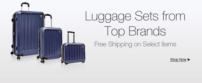 Luggage sets from top brands