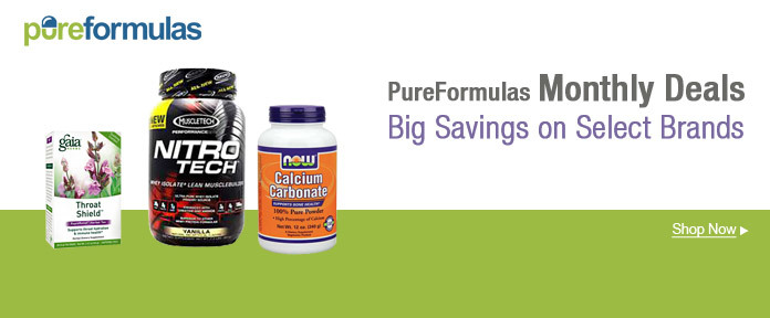 PureFormulas Monthly Deals