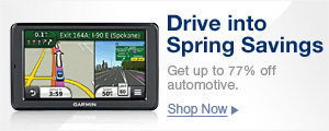 Drive into spring savings