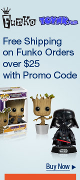 Free shipping on Funko orders over $25 with promo code