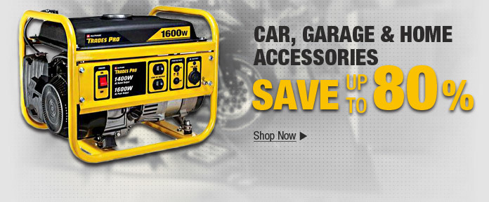 Tax Refund Splurge! Garmin $63.99  Trades Gas Generator $191.95  Dewalt Drill Driver Kit $89.88