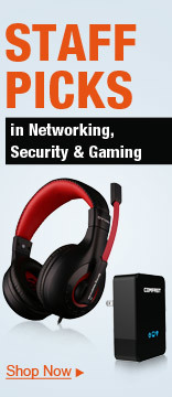 Staff Picks in Networking, Security & Gaming