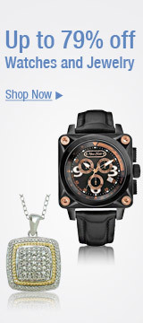Up to 79% off Watches and Jewelry