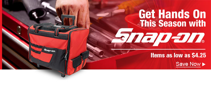 Get hands on this season with Snap-on