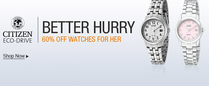 Citizen Watch Sale- 60% off Watches for Her