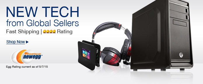 New Tech From Global Sellers