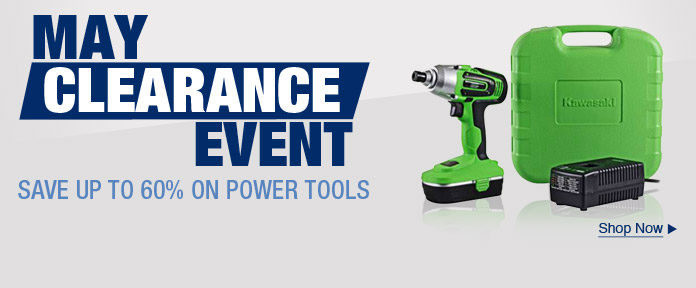 May Clearance Event