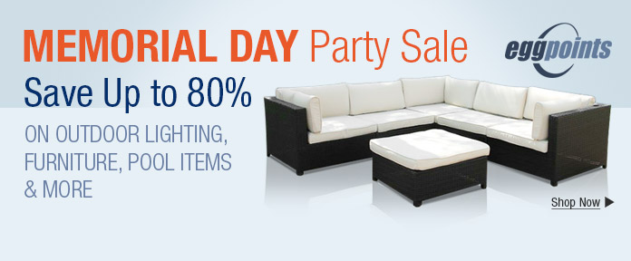 Memorial Day Party Sale
