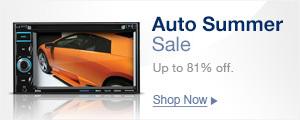 Auto summer sale