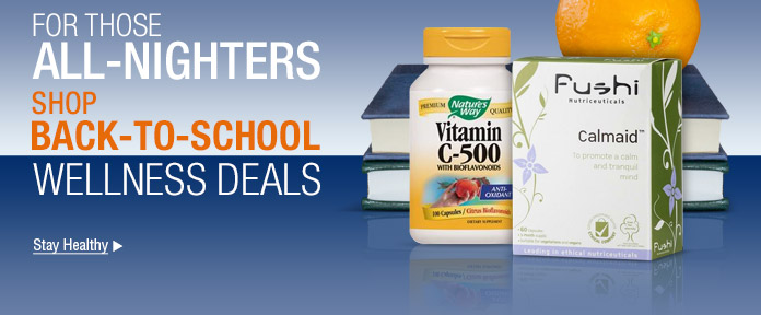 Shop Back-To-School wellness deals